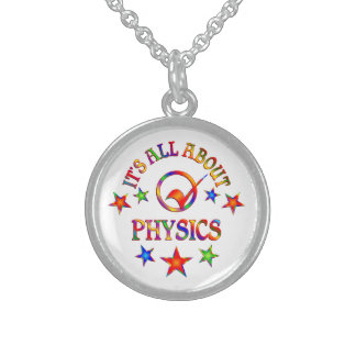 Ganz über Physik Sterling Silberkette