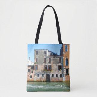 Ganz über Venedig-Taschentasche