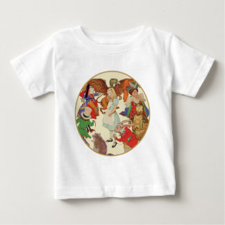 Ganz um Alicen im Wunderland Baby T-shirt