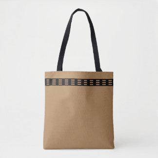 Ganz vorbei - drucken Sie Taschen-Tasche, Medium Tasche