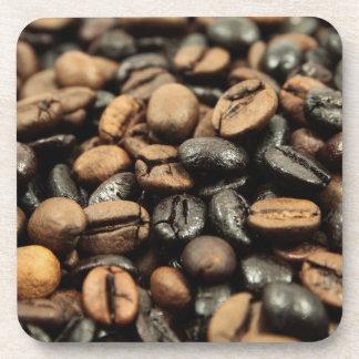 Ganze Bohnen-Kaffee Untersetzer