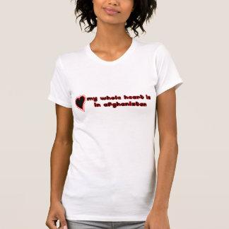 ganzes Herz Afghanistan T-Shirt