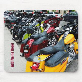 Ganzes Schwein-Harley Davidson-Motorräder Mousepad