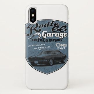 Garage des Weg-66 iPhone X Hülle