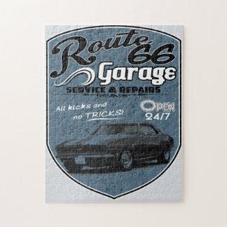 Garage des Weg-66 Puzzle
