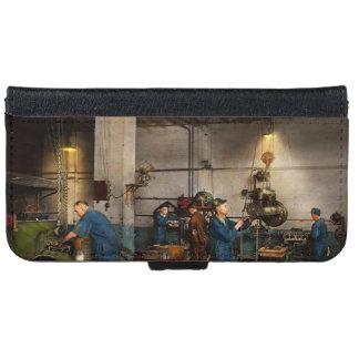 Garage - Mechaniker - die Überholung 1919 iPhone 6/6s Geldbeutel Hülle