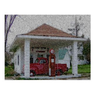 Garage Postkarte