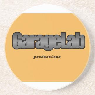 Garagelab Produktionslogo Untersetzer