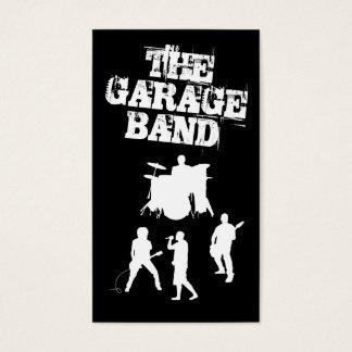 Garagen-Band-Musik Visitenkarte