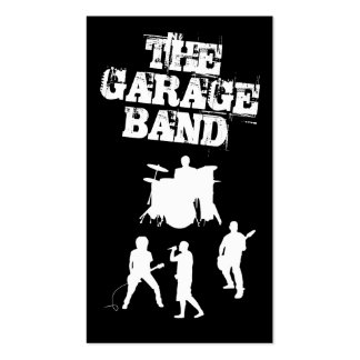Garagen-Band-Musik Visitenkarten