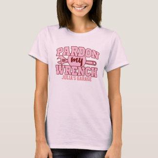 Garagen-Mädchen-Geschenk-kundengerechter Name - T-Shirt
