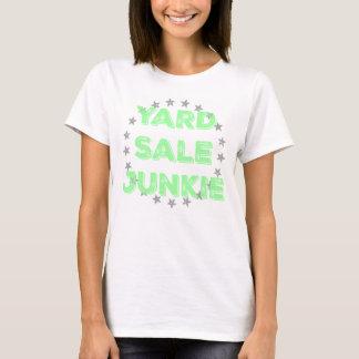 Garagenflohmarkt-Junkie-Pastell-T-Shirt T-Shirt