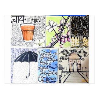 Garam Chai Postkarte
