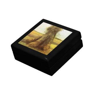 Garben Weizen durch Vincent van Gogh Geschenkbox