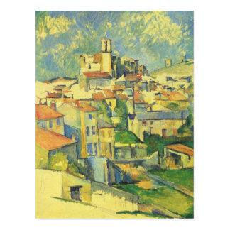 Gardanne durch Paul Cezanne Postkarte