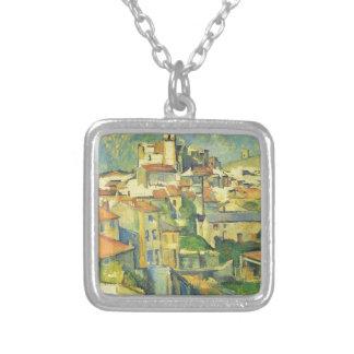 Gardanne durch Paul Cezanne Versilberte Kette
