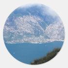 Gardasee Runder Aufkleber