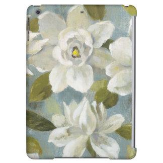 Gardenias auf Schiefer-Blau
