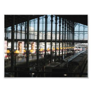 Gare du Nord Fotodruck