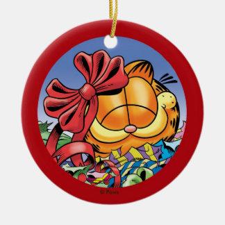 Garfield-Feiertag stellt PERSONALISIERTE Verzierun Weihnachtsbaum Ornament