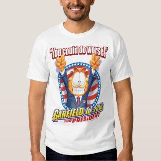 Garfield für Präsidenten im Jahre 2016 Shirts