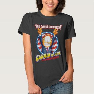 Garfield für Präsidenten im Jahre 2016 T-shirt