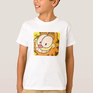 Garfield-Grinsen, KinderShirt T-Shirt