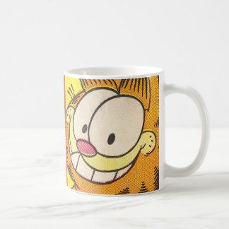 Garfield-Grinsen Tasse