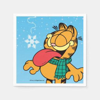 """Garfield """"Let It Snow!"""" Servietten"""