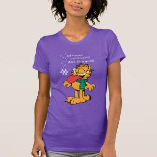 Garfield ließ es schneien! tshirts