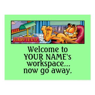 Garfield Logobox gehen jetzt Postkarten weg