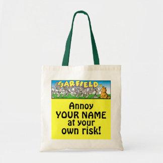 Garfield Logobox stören mich Taschen-Tasche