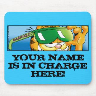 Garfield Logobox verantwortliches Mousepad