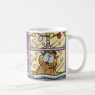 Garfield-Weihnachtsabends-Tasse