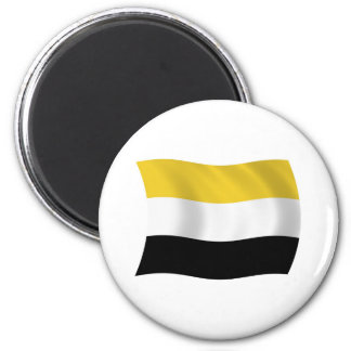 Garifuna Flaggen-Magnet Runder Magnet 5,7 Cm