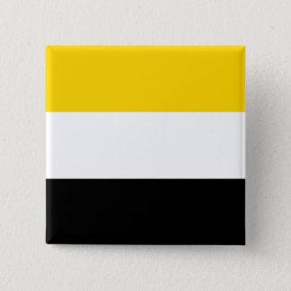 Garifuna, Tschechische Republik Quadratischer Button 5,1 Cm