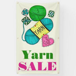 Garn-Verkauf Banner