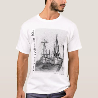 Garnele-Boote, Bayou LaBatre AL, John I. Jones T-Shirt