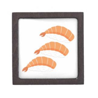 Garnele-Sushi Kiste