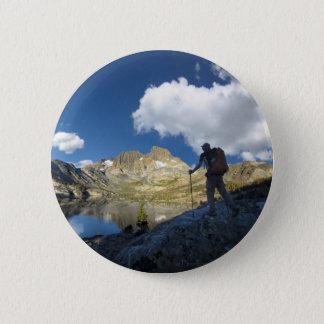 Garnet See und Fahnen-Spitze 2 - John Muir-Spur Runder Button 5,7 Cm