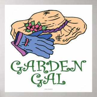 Garten-Abschürfung Plakate