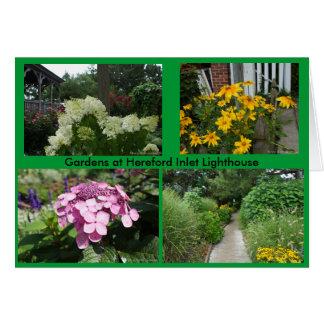 Gärten am Hereford Einlass-Leuchtturm Karte