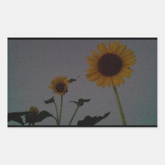Garten-Aufkleber 100_8183 Rechteckiger Aufkleber