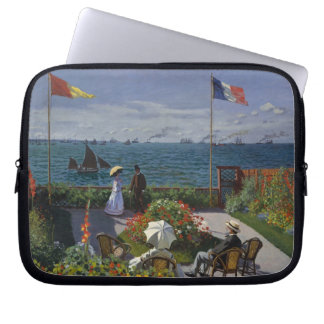 Garten bei Sainte-Adresse durch Claude Monet Laptop Sleeve