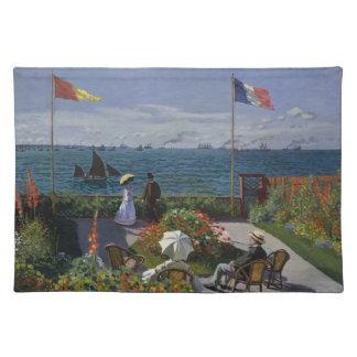 Garten bei Sainte-Adresse durch Claude Monet Tischset