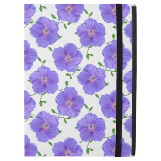 Garten-blaue Pelargonie-Blume auf irgendeiner