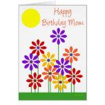 Garten Blumen-BDM Grußkarten