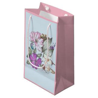 Garten-Blumen-Geschenktasche Kleine Geschenktüte