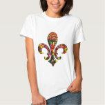 Garten-Blumen-Tulpe-Lilie Orleans T Shirts