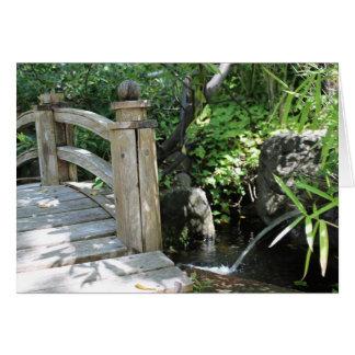 Garten-Brücke Karte